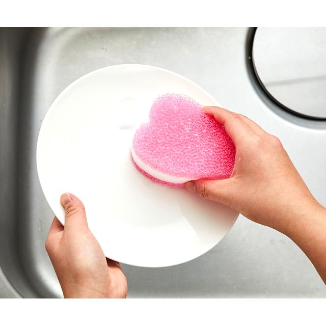 kf111_キッチンクリーナーソフト ピンク 洗い物