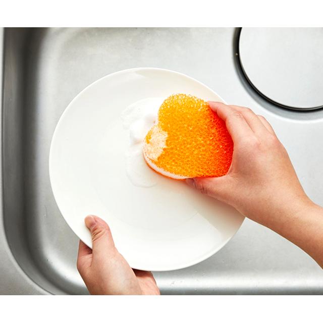 kf111_キッチンクリーナーソフトオレンジ 洗いもの